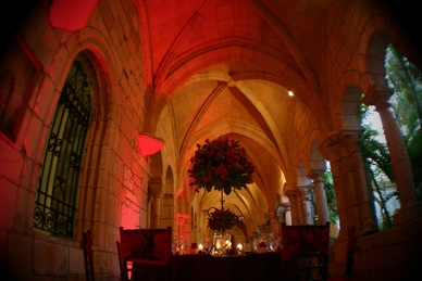 Spanish Monastery Wedding A Fancy Fiesta Gourmet Miami Catering Miami Caterer Best Wedding