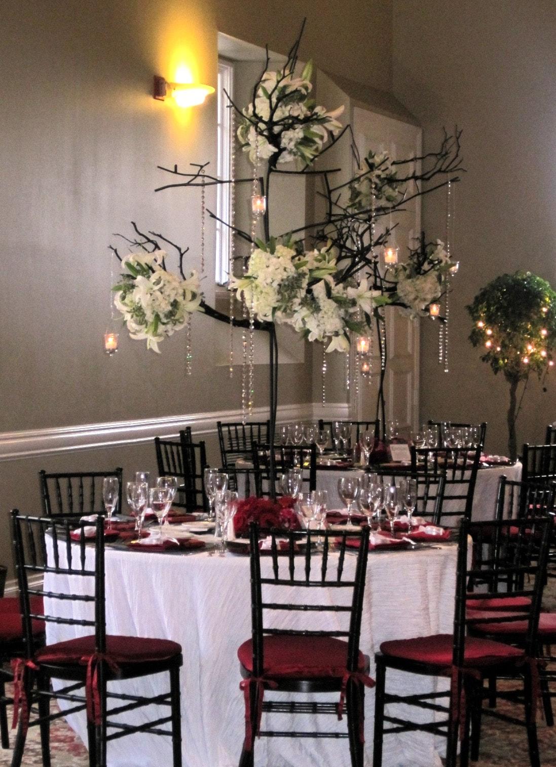 Indoor Wedding Entrance Decoration